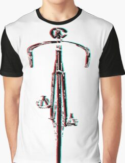 Bicycle 3d Graphic T-Shirt