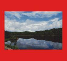 Calm Lake, Turbulent Sky Baby Tee