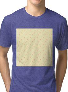 Pale Flowers Tri-blend T-Shirt