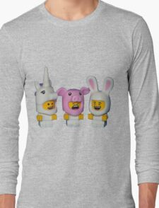 Adorable Baby Animals Long Sleeve T-Shirt