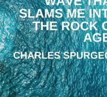 Waves by Charles Spurgeon Sticker