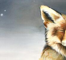 Fox full size  Sticker