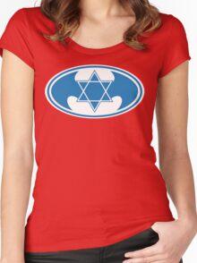Batman Logo Redesign Women's Fitted Scoop T-Shirt