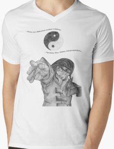 Neji Kun Yin Yang Mens V-Neck T-Shirt