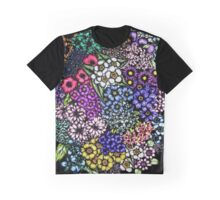 Midnight Blossoms Graphic T-Shirt