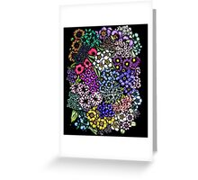Midnight Blossoms Greeting Card