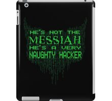 (Not the) Messiah iPad Case/Skin