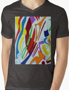 Shades of enlightenment 3 Mens V-Neck T-Shirt