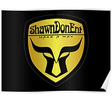 ShawnDonEnt Logo Poster
