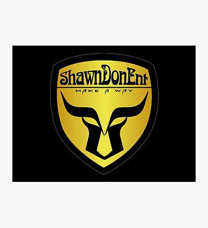 ShawnDonEnt Logo Photographic Print