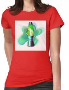 Lava Lamp Womens Fitted T-Shirt
