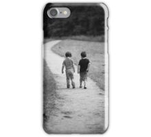 Two Little Boys iPhone Case/Skin