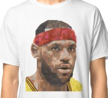 LEBRON JAMES GRAPHIC ART PORTRAIT Classic T-Shirt