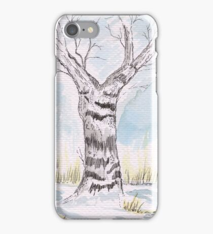Silver Birch iPhone Case/Skin