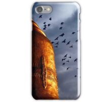 A temple in Bagan iPhone Case/Skin