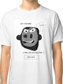 Harambe Lives On Classic T-Shirt
