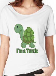I'm a Turtle Women's Relaxed Fit T-Shirt