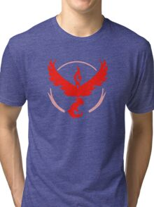 Team Valor Pokemon Go Tri-blend T-Shirt