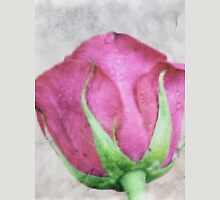 A painting of pink Rose . Unisex T-Shirt