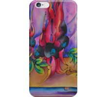 Sturts Desert Peas iPhone Case/Skin