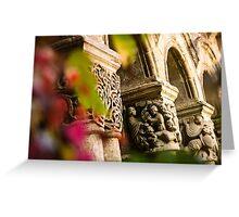 Vines & Gothic - Santillana del Mar, Spain Greeting Card