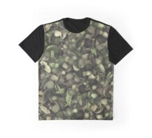 Camouflage heap of mushrooms Graphic T-Shirt