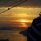 Sunset From The Cable Car.............Dubrovnik by Fara