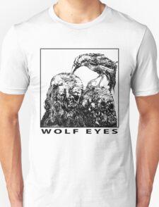 Wolf Eyes Burned Mind Unisex T-Shirt