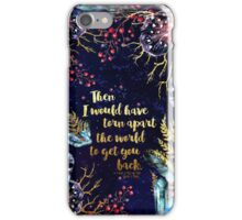 ACOMAF - Torn Apart The World iPhone Case/Skin