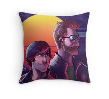 Rhett and Link - Synths and Waves Throw Pillow