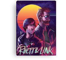 Rhett and Link - Synths and Waves Canvas Print