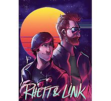 Rhett and Link - Synths and Waves Photographic Print