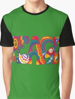 Psychedelic Peace Graphic T-Shirt