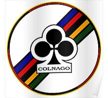 Colnago Bicycles Italy Poster