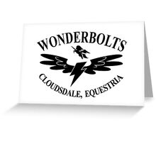 Wonderbolts Logo  Greeting Card