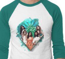 Fifth Harmony 7/27 Green Men's Baseball ¾ T-Shirt