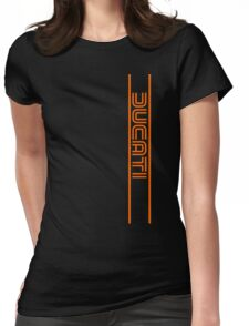 Ducati Motorcycles Italy Womens Fitted T-Shirt
