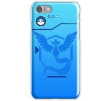 Pokemon Go Team Mystic Pokedex iPhone Case/Skin