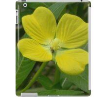 Narrow-Leaf Water Primrose, Mexican Primrose-Willow iPad Case/Skin