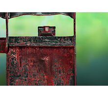 Rust Abstract Photographic Print