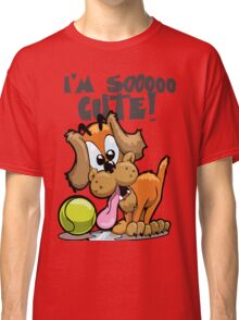 Pink Pig's Puppy Classic T-Shirt