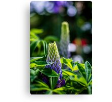 Flower Towers Canvas Print