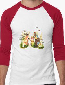Sun Fun II Men's Baseball ¾ T-Shirt