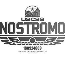 Nostromo Alien Photographic Print