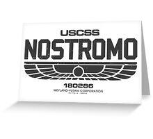 Nostromo Alien Greeting Card