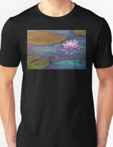 Lotus Among The Lily Pads AC 160422-13 Unisex T-Shirt