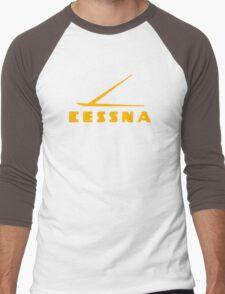Cessna Vintage Aircraft Men's Baseball ¾ T-Shirt