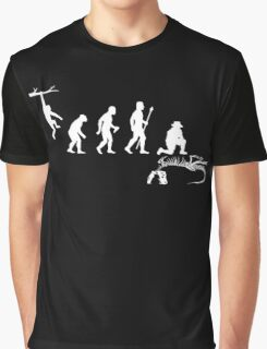 Funny Palaeontology Evolve Graphic T-Shirt