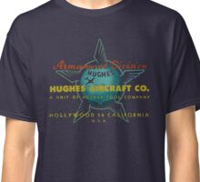 Hughes Aircraft Hollywood California Classic T-Shirt