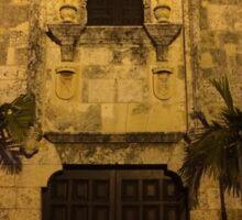 Entrance to Museo de las Casas Reales Sticker
